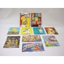 JUEGO 8 POSTALES BLISTER SIMPSONS SURTIDO