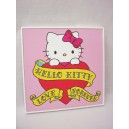 CUADRO TABLA MARCO HELLO KITTY CORAZON